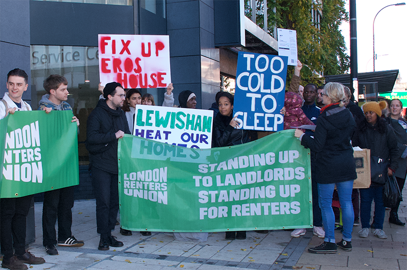 Lewisham Council continues to fail Eros House families