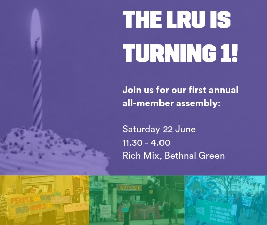 Building Power: London Renters Union all member assembly