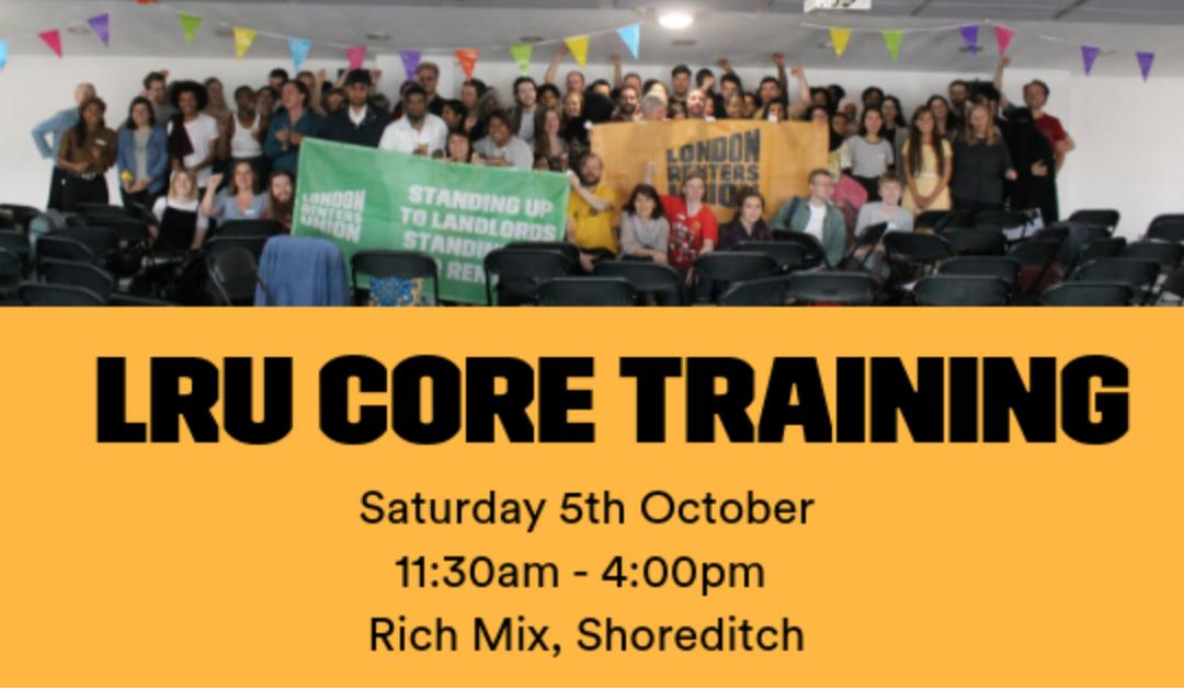 LRU Core Training – October 5th