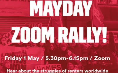 Mayday Zoom Rally!