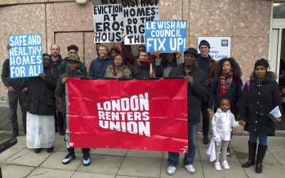 Lewisham renters take action to demand end to dangerous conditions and evictions