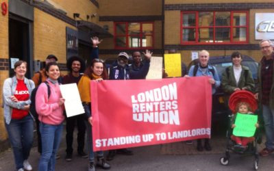 London Renters Union community solidarity workshop
