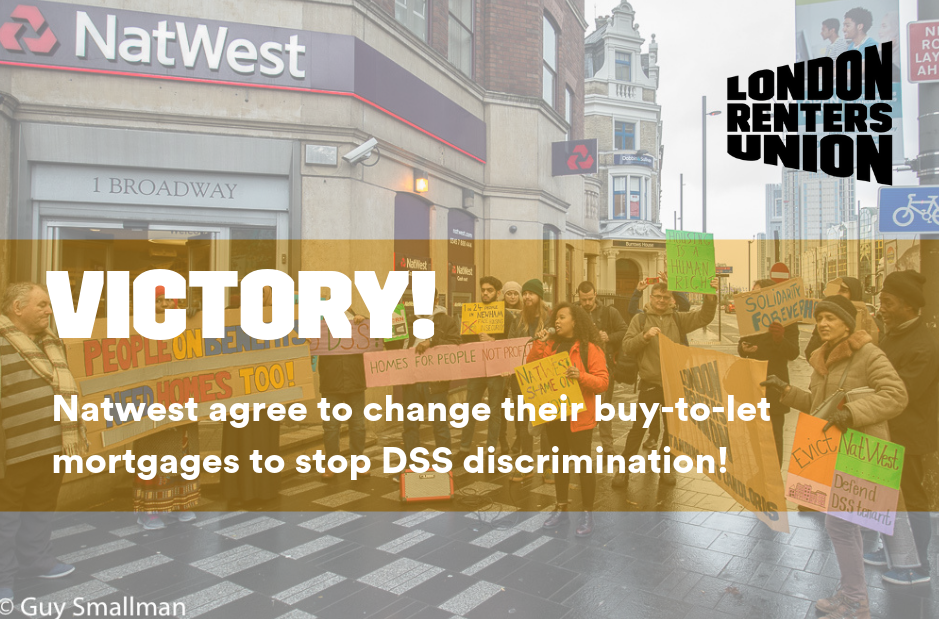 THERE IS POWER IN A UNION! Yes DSS! Scrap Right to Rent!
